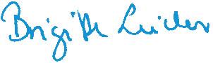 Unterschrift Brigitte Leicher