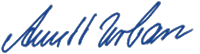 Unterschrift Annett Urban